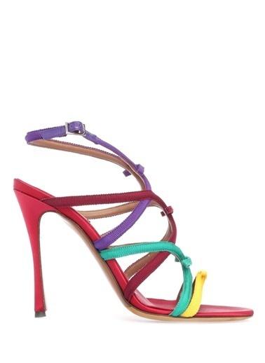 Tabitha Simmons İnce Topuklu Sandalet Renkli